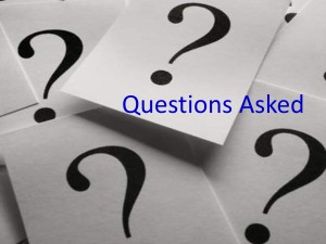 Questions Asked