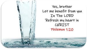 Refresh my heart in CHRIST