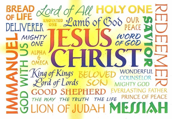 Names of my JESUS