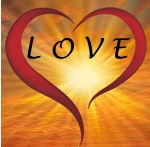 Open heart, Light, Love